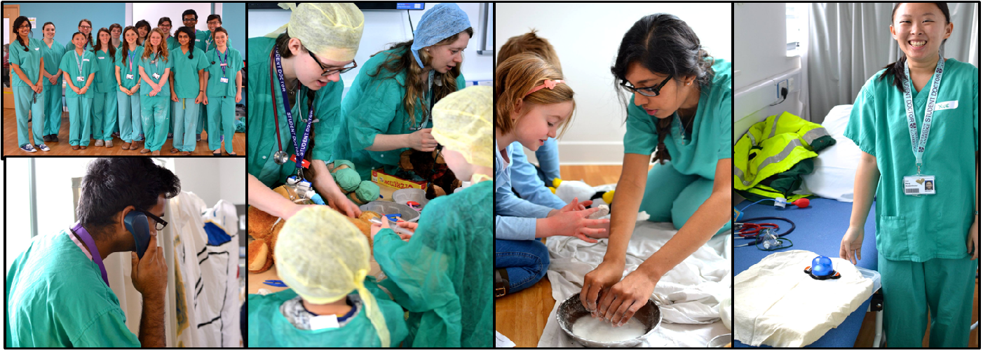 Teddy Bear Hospital sessions rely on volunteer Teddy Doctors